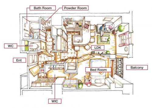 病院建替えの実例:プチモンド稲毛